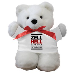 Zell Hell teddy bear
