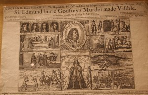 Account of the sensational murder of Edmund Berry Godfrey (1678)