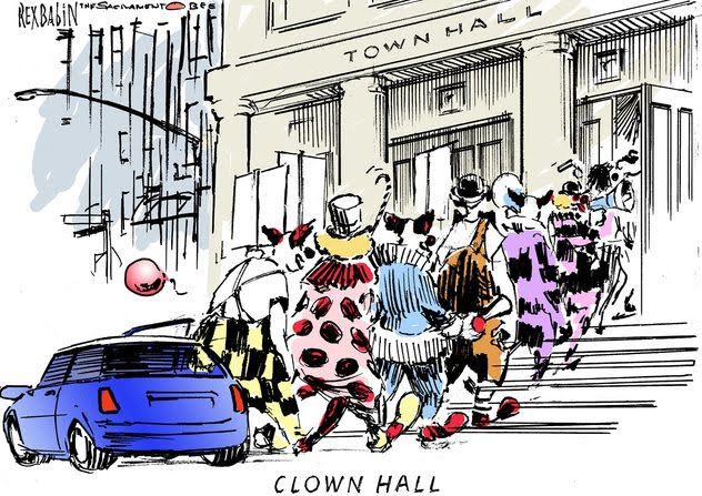 Clown hall