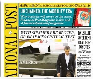 National Post Redesign